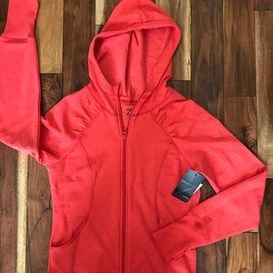 Zella Women's Zip Up Hoodie Sweatshirt, NWT Small